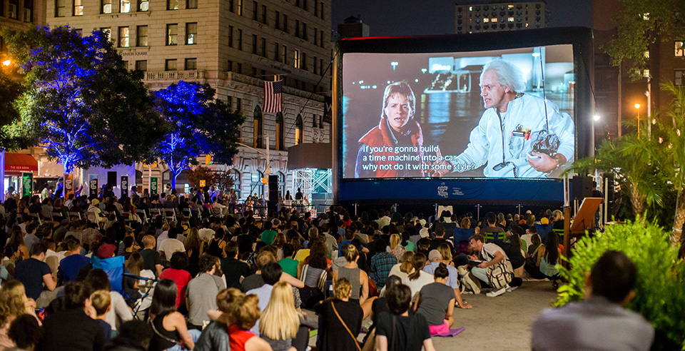 Summer in the Square Movie Night