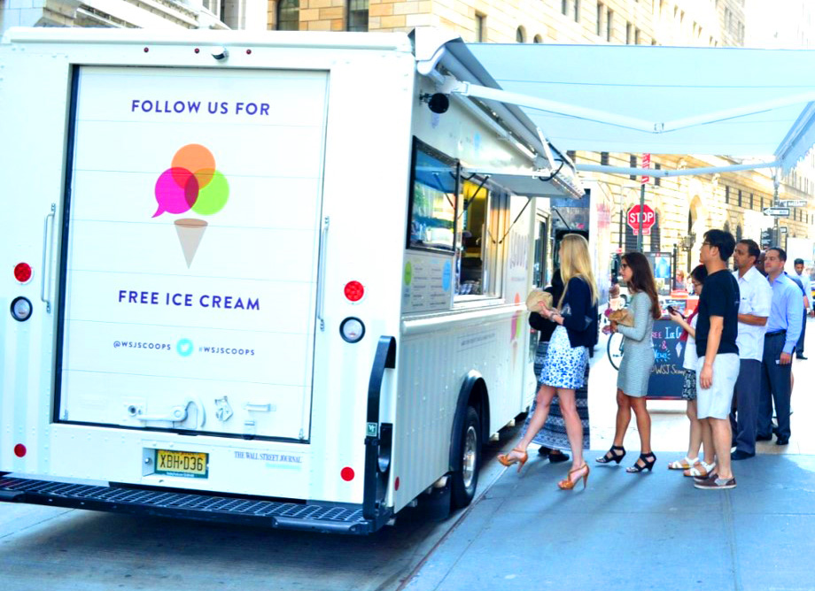 The Wall Street Journal Ice CreamTruck